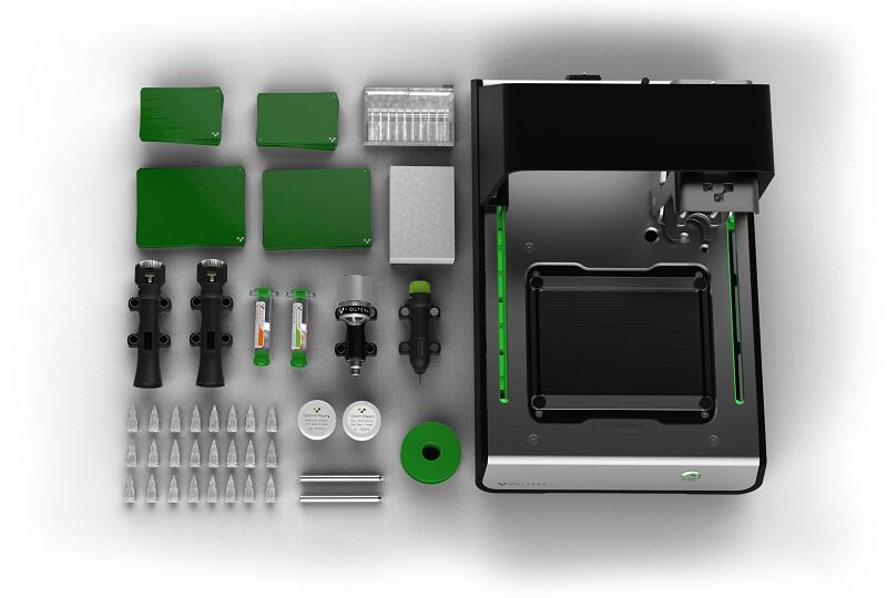 Bộ sản phẩm Voltera V-One - Máy gia công PCB để bàn