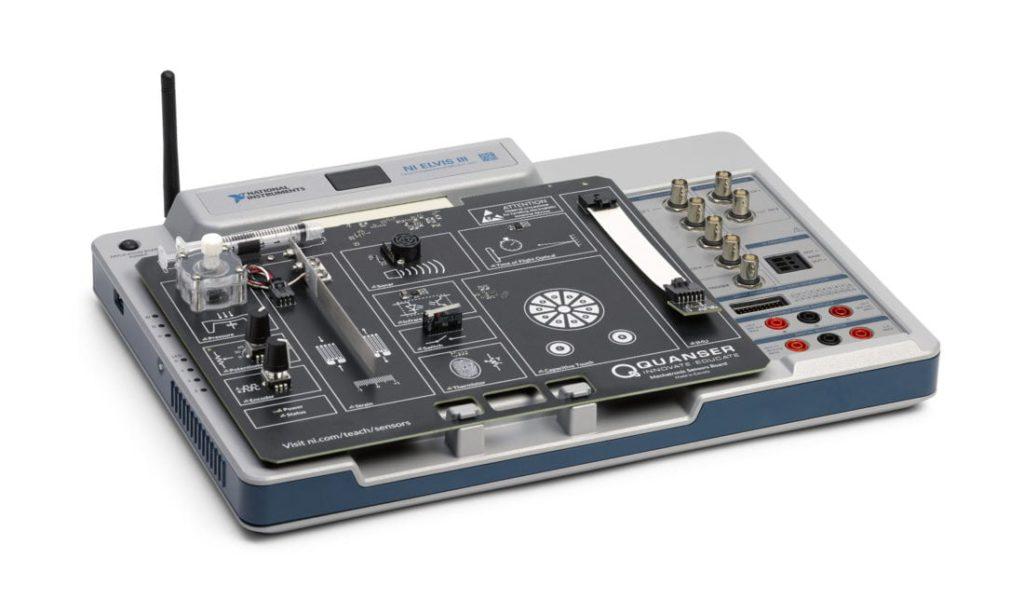 NI ELVIS III + Quanser Mechatronic Sensors Board