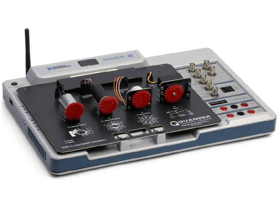 NI ELVIS III + Quanser Mechatronic Actuators Board